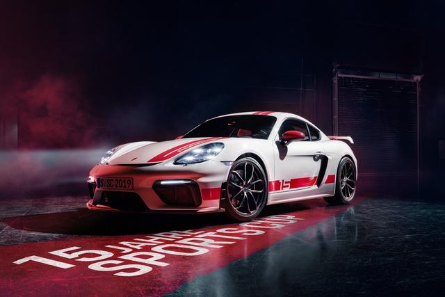 Porsche 718 Cayman GT4 Sports Cup Edition - Optisch näher am Rennsport