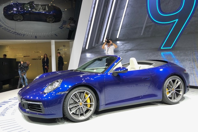 Porsche auf dem Genfer Autosalon 2019 - Offen ins Frühjahr