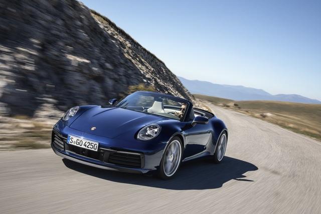 Neues Porsche 911 Cabriolet - Noch schneller im Sonnenmodus