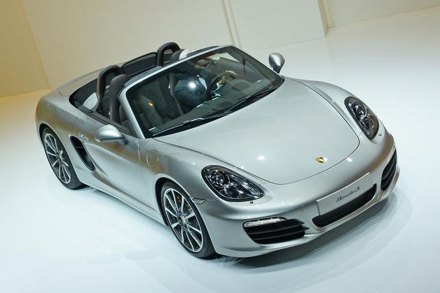 Porsche Boxster - Mehr Platz und Druck