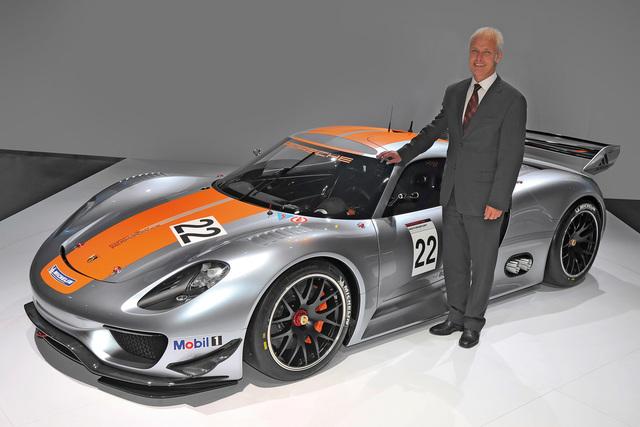 Porsche-Chef Mathias Müller - Einer, der voraus denkt