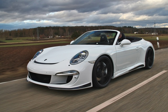 Porsche 911 Carrera S Tuning - Funkelnder Sonne-Proppen
