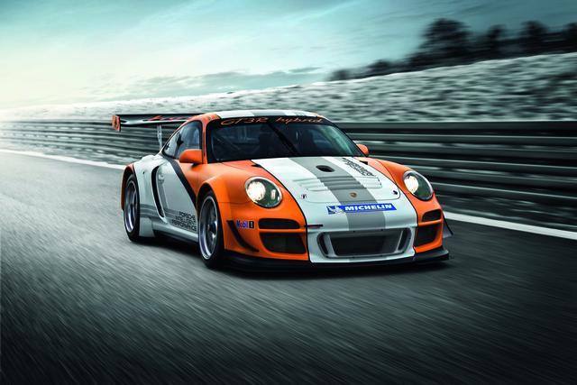 Porsche 911 GT3 R Hybrid: Ein Schwungradspeicher als Beifahrer