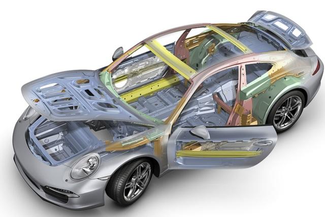 Leichtbau bei Porsche - Intelligent abgespeckt