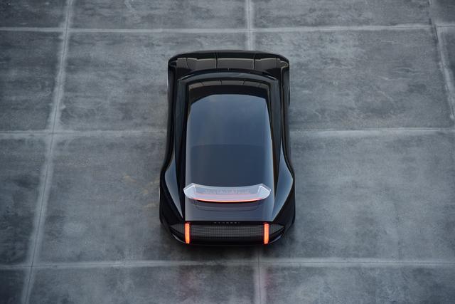 Hyundai Prophecy Concept - Stromer mit Stromlinie