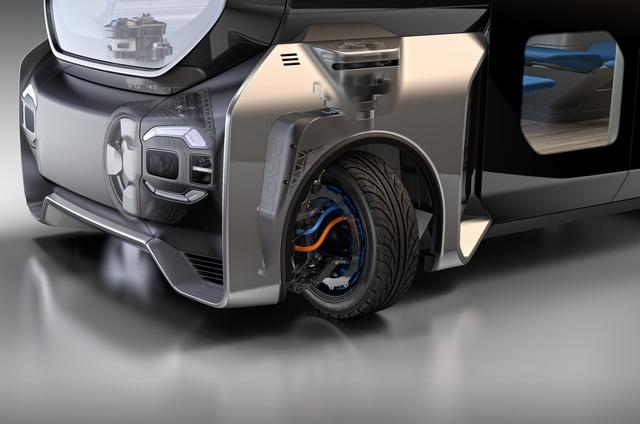 Integrierte 360-Grad-Lenkung von Protean - Gerne auch quer
