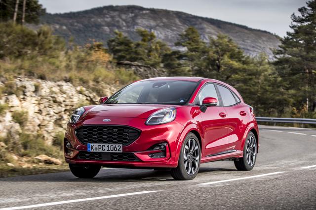 Ford Fiesta und Puma - Mildhybride jetzt auch mit Automatik