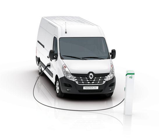 Renault Master Z.E. - Elektrisch in die Innenstädte