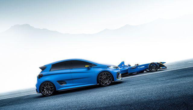 Renault Zoe E-Sport Concept - Der E-Mobilitäts-Beschleuniger