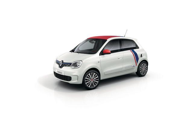 Renault Twingo als Sondermodell - Frankreich-Trikot für den Kleinstwagen