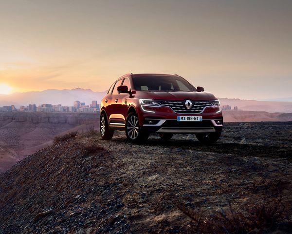 Facelift für Renault Koleos - Neue Diesel und mehr Chrom