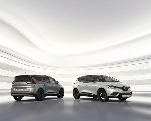 Renault Scénic - Schwarz und komfortabel