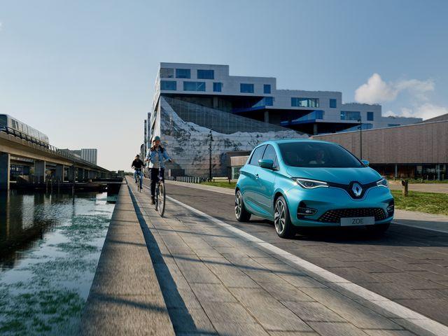 Gelifteter Renault Zoe - Gleicher Preis trotz größeren Akkus