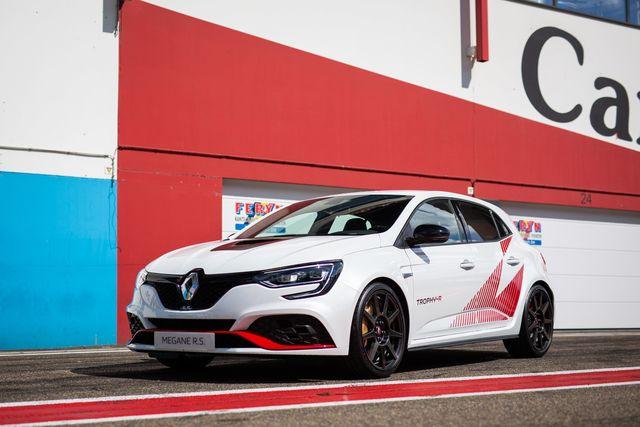 Renault Mégane R.S. Trophy-R - Auf Wunsch mit goldenen Bremssätteln