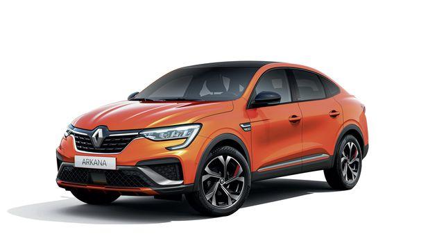 Renault Arkana   - SUV-Coupé kommt im Frühjahr