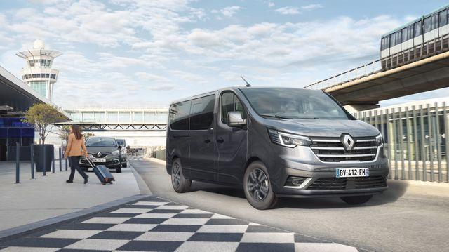 Renault-Transporter  - Lifting beim Trafic, Wasserstoff für den Master