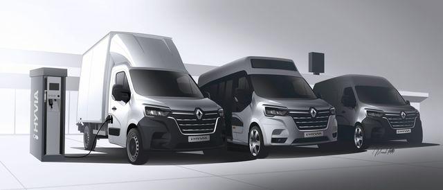 Renault - Drei Varianten mit Wasserstoff-Technik