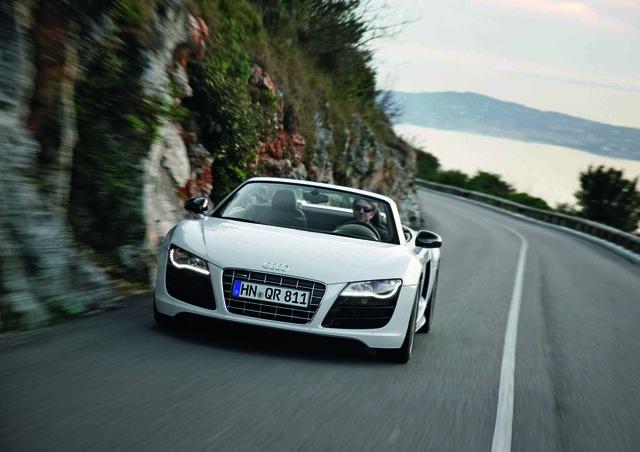 Audi R8 Spyder: Die zweite Offensive (Kurzbericht)