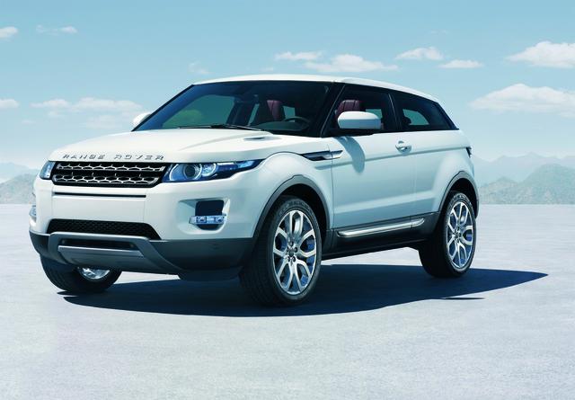Kleiner, leichter, sparsamer: Der Land Rover Evoque kommt 2011