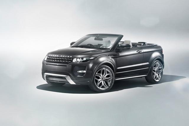 Range Rover Evoque Cabrio - Sehen und besser gesehen werden