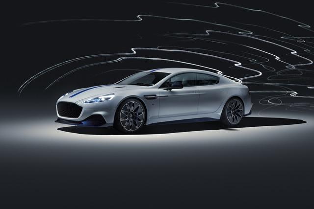 Aston Martin Rapid E - Konkurrenz für den Porsche Taycan