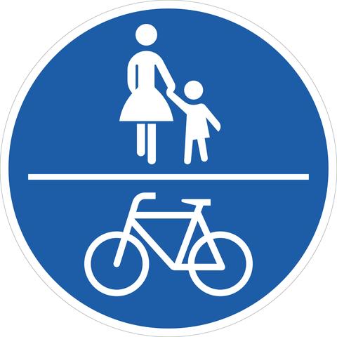 Ratgeber: Regeln für die Rad- und Fußweg-Nutzung - Wer wann wo fahren darf