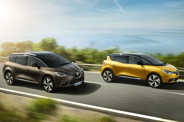 Renault Scénic und Grand Scénic - Durchgestyltes Duo (Vorabbericht)