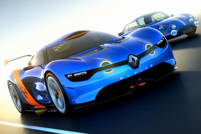 Renault Alpine - Gemeinsam geht es