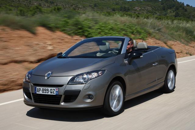 Schneller Schalten: Renault Megane Cabrio mit Doppelkupplungsgetriebe
