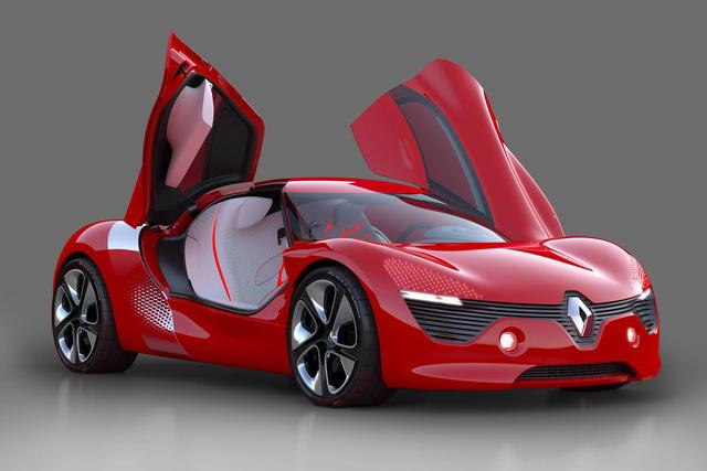 Renault Elektro-Studie DeZir: Den will ich haben