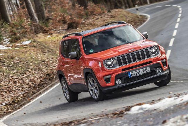 Jeep Renegade - Vernetzt ins neue Modelljahr