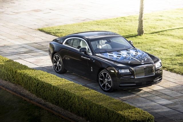 "Rolls-Royce Wraith ""Inspired by Music"" - Rollende Rocklegenden"