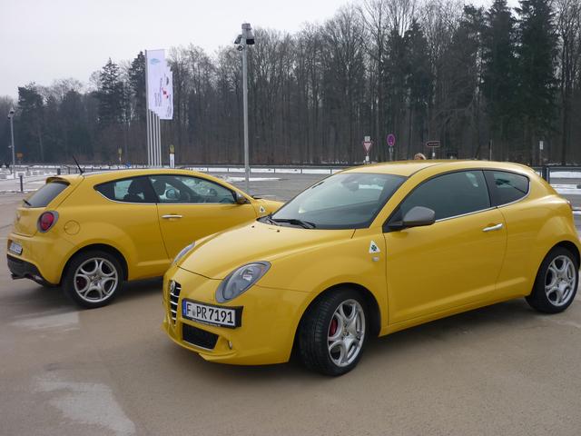 Alfa Romeo MiTo QV: Fahrwerkspremiere (kurz)