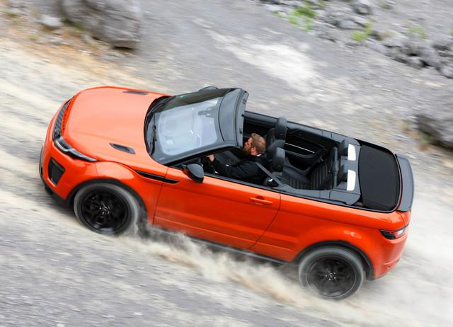 range rover evoque cabrio eine neue suv spielart. Black Bedroom Furniture Sets. Home Design Ideas