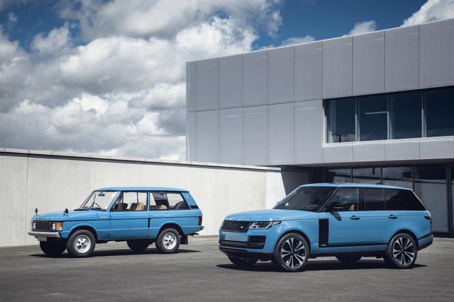 Range Rover   - Sondermodell zum Fünfzigsten