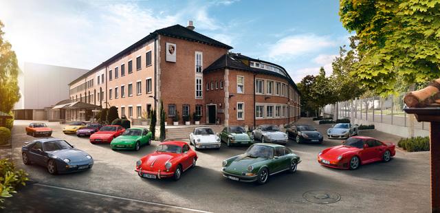 Diebstahlschutz für alte Porsche - Oldies an der virtuellen Leine