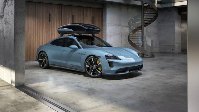 Porsche Tequipment - Dachbox für den Taycan