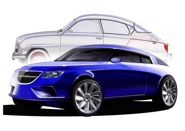 Saab bastelt an einem neuen, schrulligen Design
