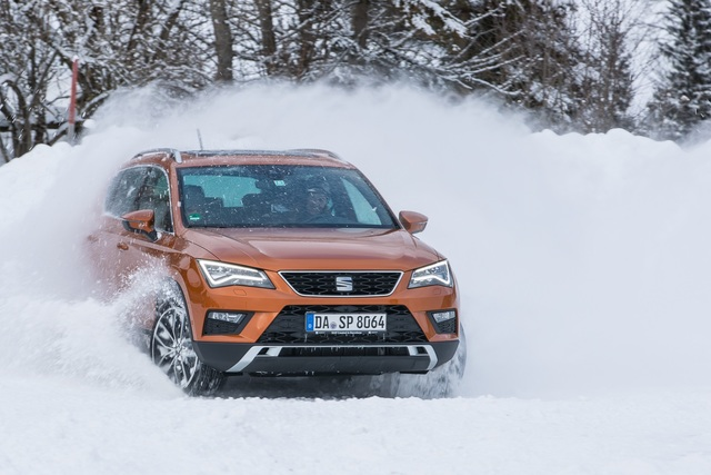 Fahrbericht: Seat Ateca 1,4 EcoTSI 4Drive - Ein bisschen Schnee muss sein