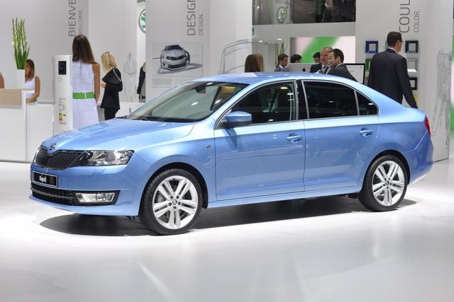 Skoda Rapid - Limousine zum Kleinwagenpreis
