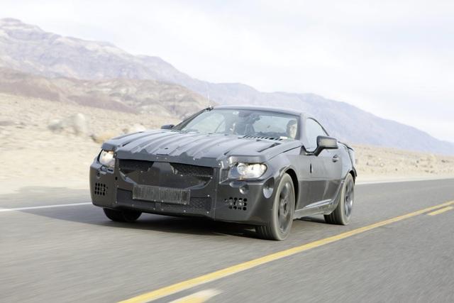 Neuer Mercedes SLK - Ein Hoch auf die Sicherheit