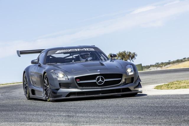 Mercedes SLS AMG GT3 45th Anniversary - Exklusives Geburtstagsgeschenk