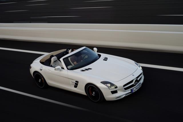Mercedes SLS AMG Roadster - Tiefflieger ohne Flügel