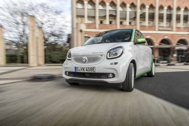 Fahrbericht: Smart Forfour electric drive  - Der smarteste Smart