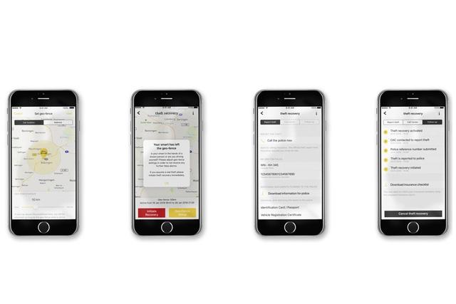 Neue App-Funktionen bei Smart - Autodieben schneller auf der Spur
