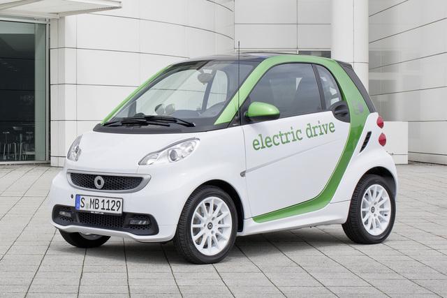 Smart Fortwo Electric Drive - Stromer zum Kampfpreis