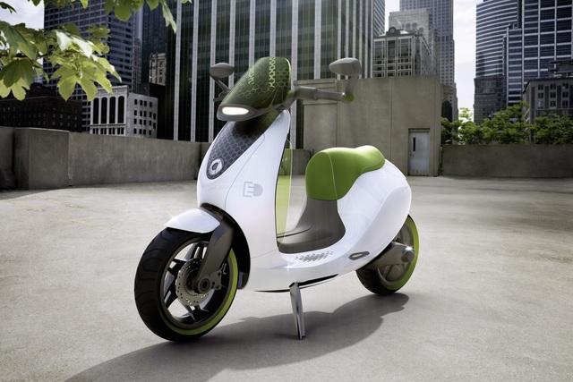 Smart escooter - Elektro-Roller kommt 2014