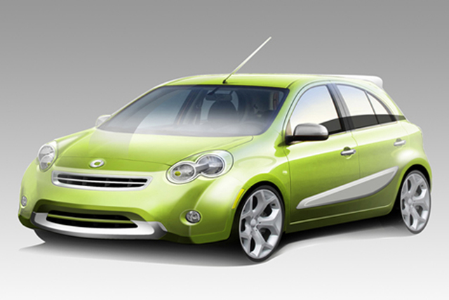 Smart-Fünftürer - Smart drauf, Nissan drunter