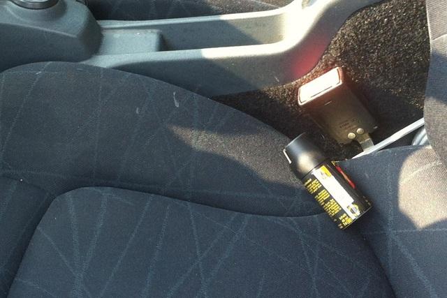 Sommerhitze im Auto - Spraydosen können explodieren