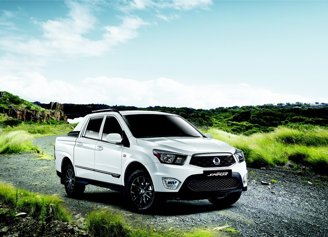 Ssangyong Actyon Sports Facelift - Mehr Power für den Pick-up
